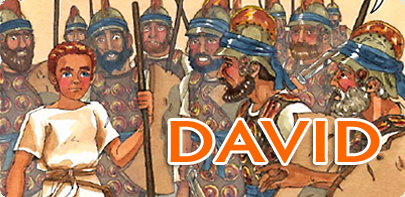 The Story of David - Christian Comic Book